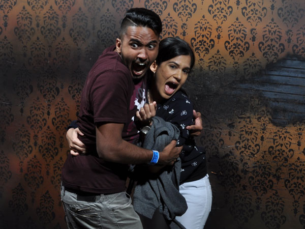 Date Night at Nightmares Fear Factory