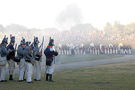 Fort Erie Battle Re-enactments