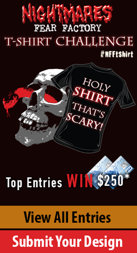 Nightmares Fear Factory T-Shirt Challenge #NFFtshirt