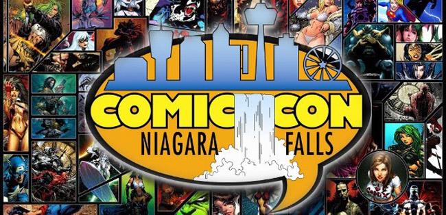 Image result for niagara falls comic con