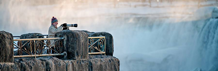 Niagara Falls in the Winter Photo credit Christine Hess