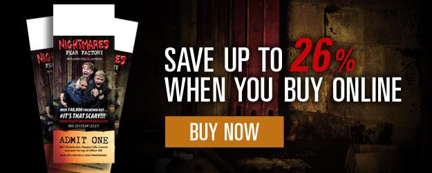 Buy Nightmares Fear Factory Tickets