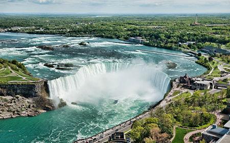 Canadian Horseshoe Falls - Niagara Falls