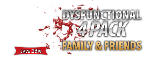 Nightmares Dysfunctional Family 4 Pack