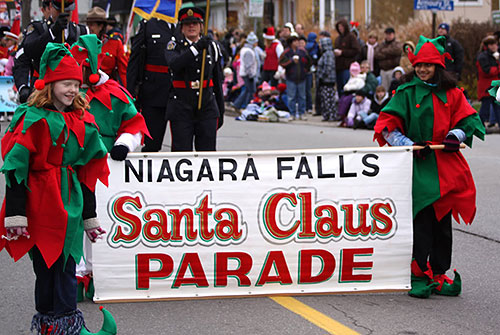 Santa Claus Parade 2014 Niagara Falls Nightmares Fear Factory