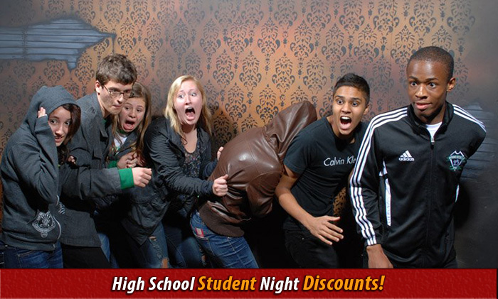 student discount night at nightmares fear factory