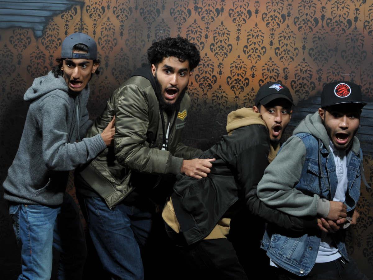 Nightmares Fear Factory Niagara Falls Clifton Hill Fear Pic