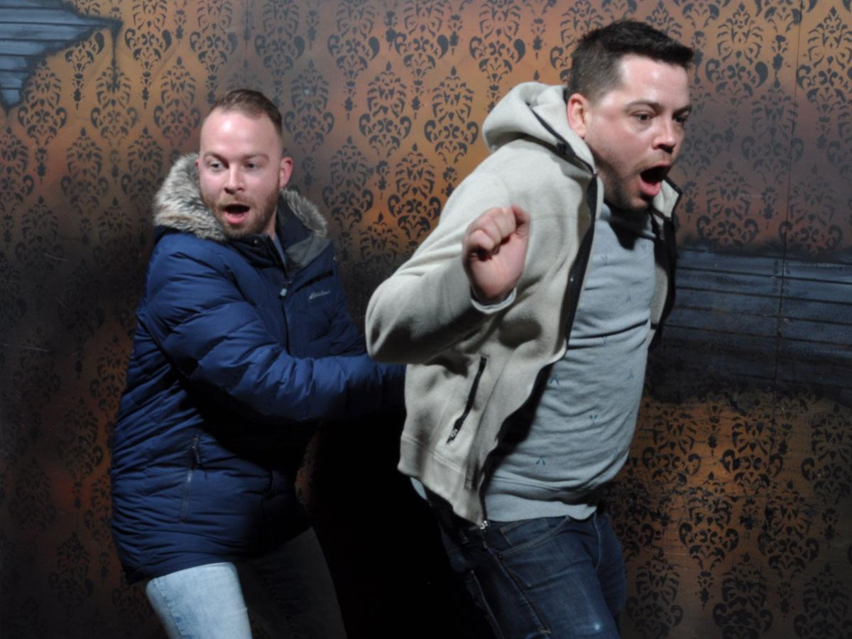 Nightmares Fear Factory Fear Pic Clifton Hill Niagara Falls Ontario