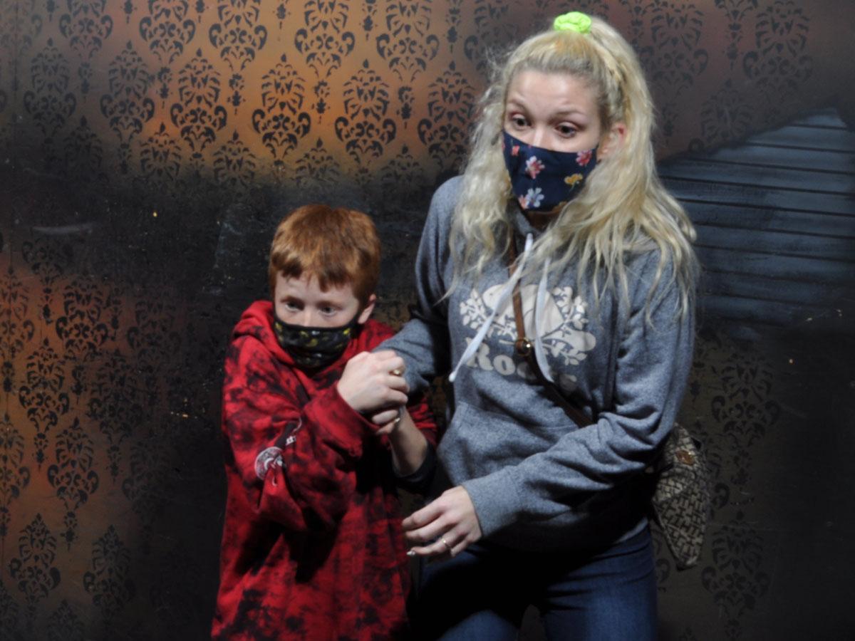 Nightmares Fear Factory Fear Pic Clifton Hill Niagara Falls Ontario