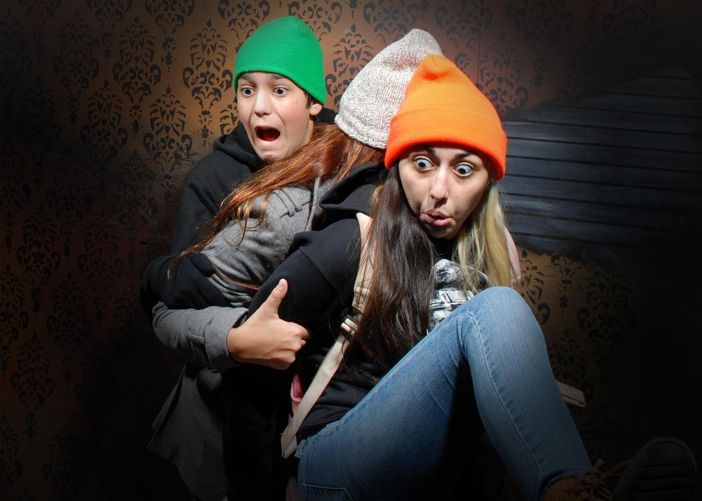 Nightmare haunted house pictures