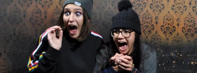 Scream Therapy at Nightmares Fear Factory